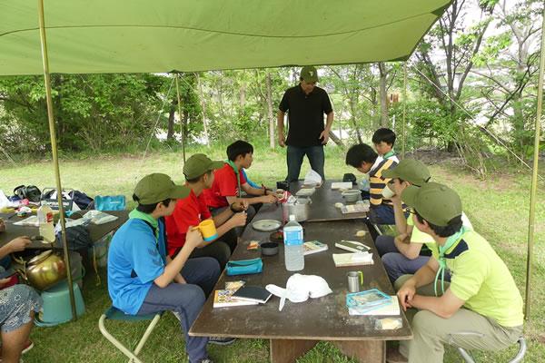 ボーイ隊 春キャンプ